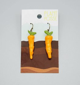 Plant Posse Carrot Earrings