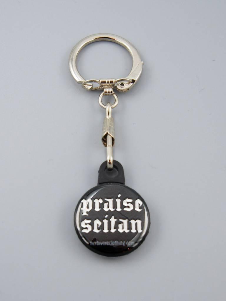 Praise Seitan Key Chain