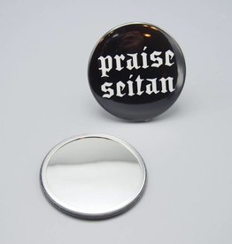 Praise Seitan Pocket Mirror