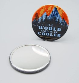 The World Used to be Cooler Pocket Mirror