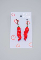 Plant Posse Chili Pepper Earrings
