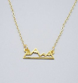 Mountain Range Necklace by Mishakaudi