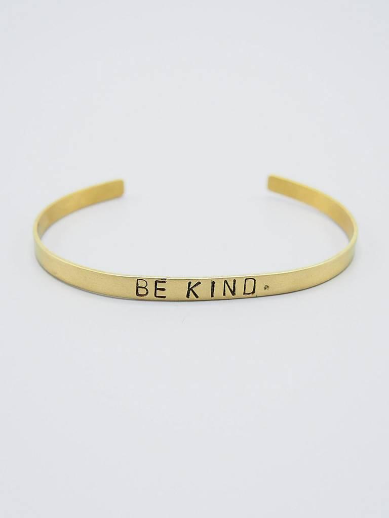 Be Kind. Cuff by Mishakaudi