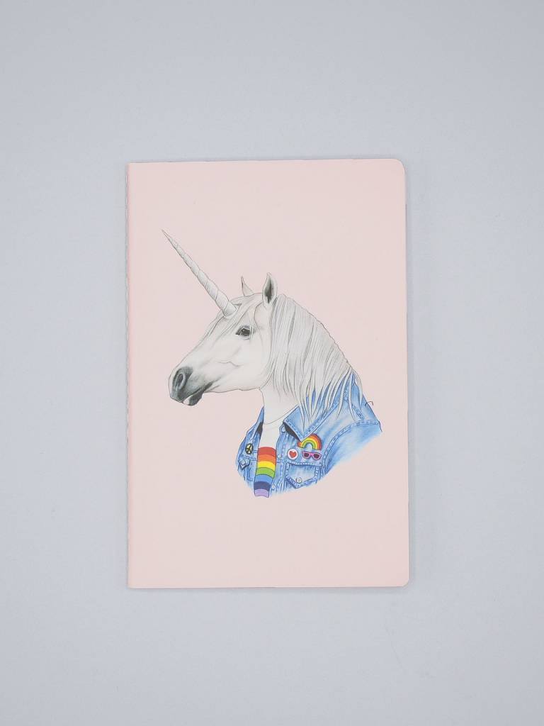 Rainbow Kitten & Unicorn Mini Notebook Set - The Berkley Bestiary