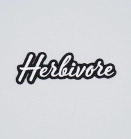 Herbivore Scripty Font Iron-On Patch