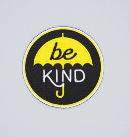 Be Kind Umbrella Iron-On Patch