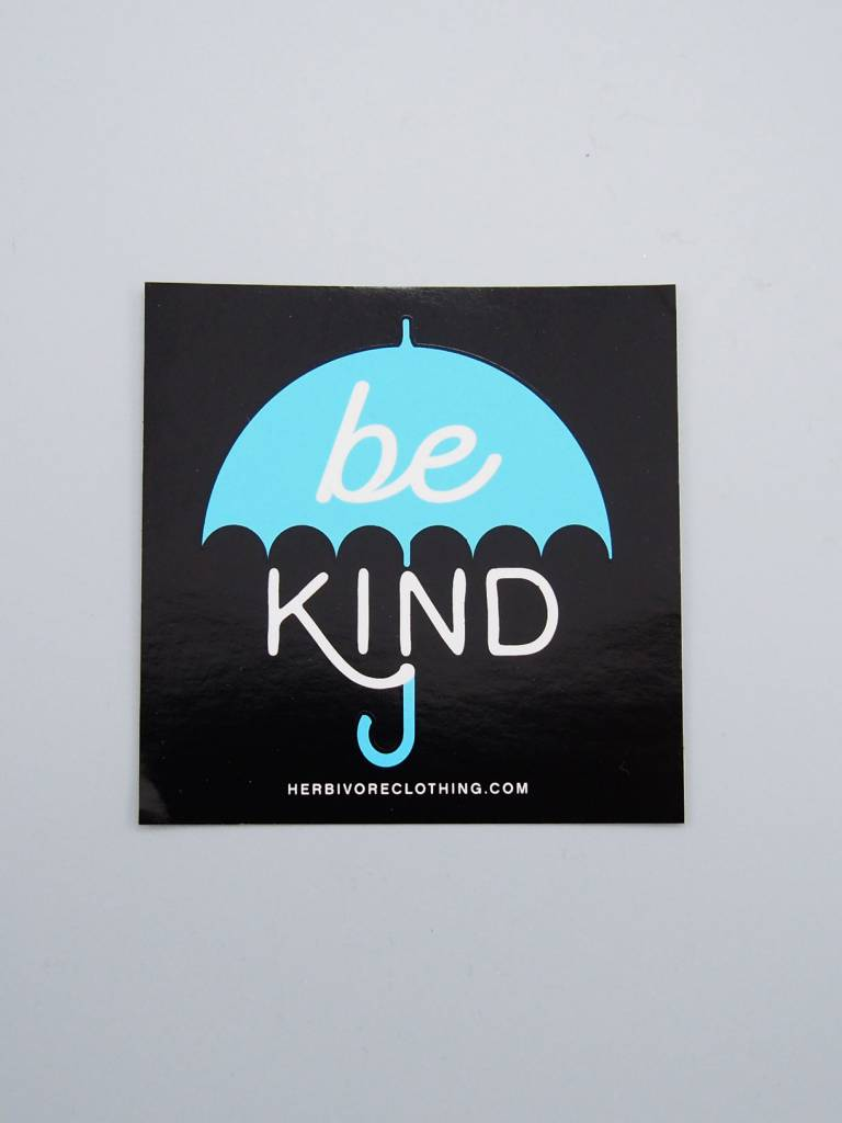 Be Kind Umbrella Sticker