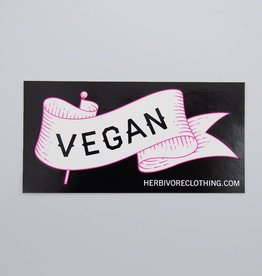 Vegan Banner Sticker