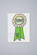 Vegan Ambassador Card