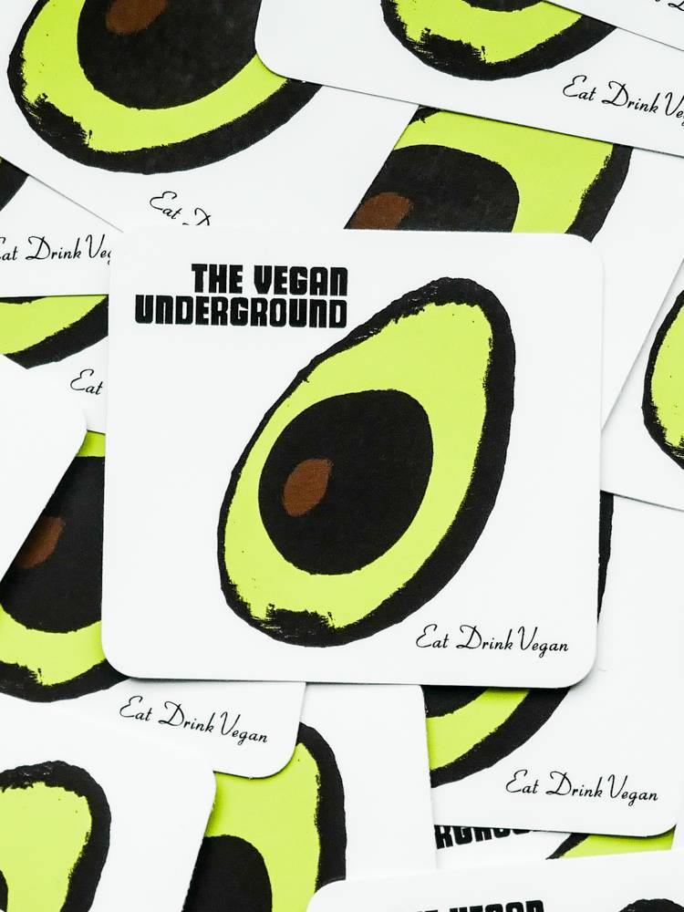 The Vegan Underground Sticker