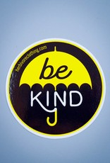 Be Kind Umbrella Die Cut Sticker