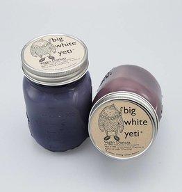 Big White Yeti Mason Jar Candle Vegan Donuts