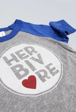 Herbivore Circle Kids Baseball Tee ::YOUTH LARGE ONLY::