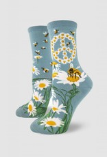 Give Bees a Chance Women's Crew Sock from Mod Socks