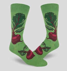 Red Beets Men's Crew Sock from Mod Socks
