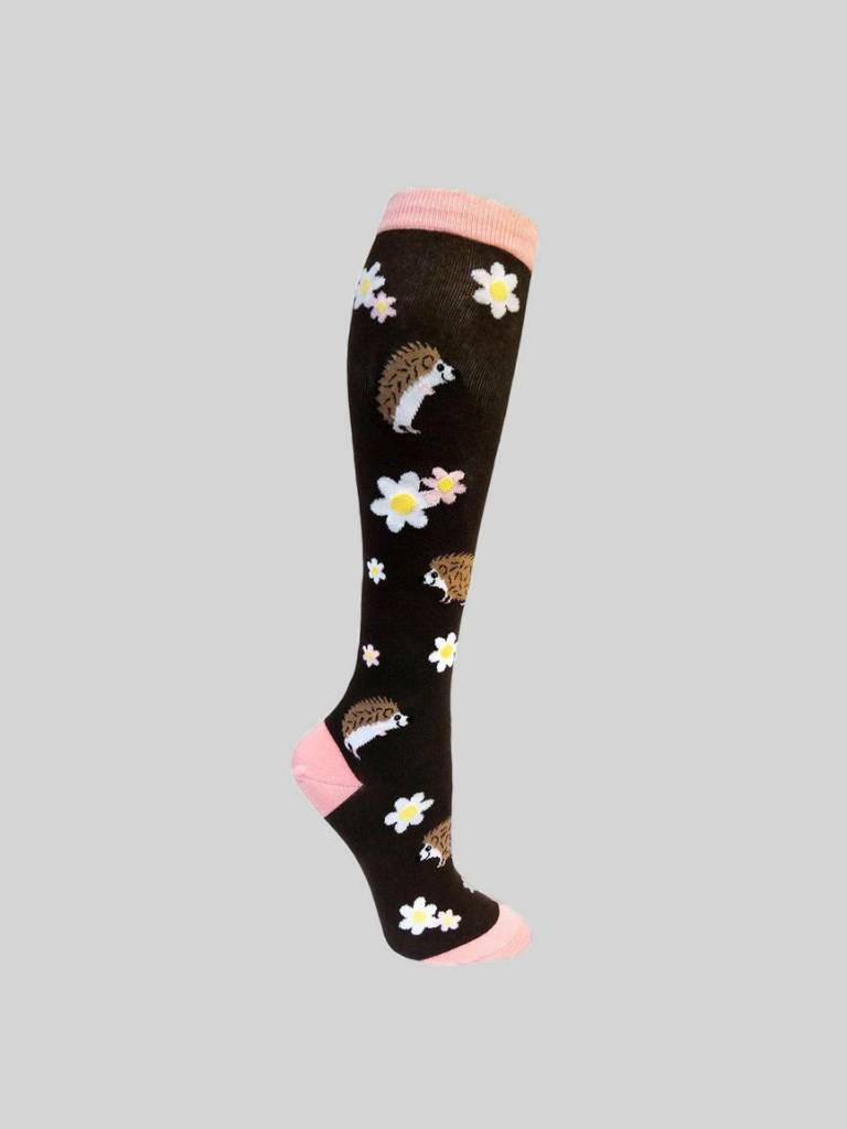 Happy Hedgehog Knee Sock from Mod Socks