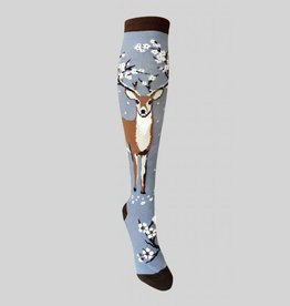 Antler Blossoms Knee Sock from Mod Socks