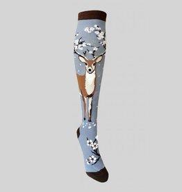 Antler Blossoms Knee Sock from Mod Socks
