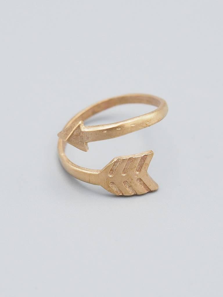 Arrow Brass Ring