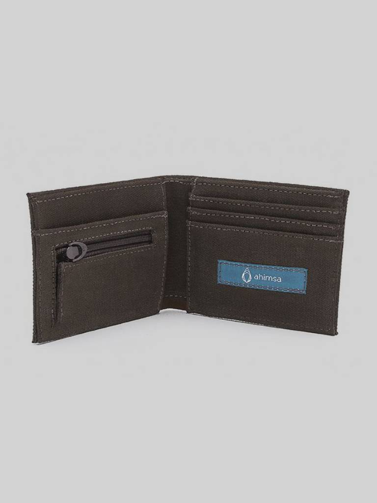 Zipped Wallet By Ahimsa