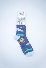 Sea Voyage Men's Crew Sock from Sock It To Me