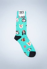 Dogs of Rock Men's Crew Sock from Sock It To Me