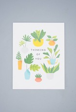 Thinking Of You Plants Card