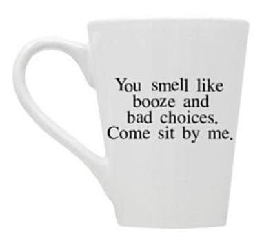 Buffalovely Booze and Bad Choices Mug