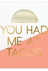 Slant You Had Me At Taco Napkins 20 CT