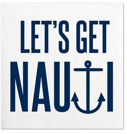 Slant Let's Get Nauti Napkin 20 ct