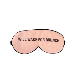 About Face Will Wake for Brunch Sleep Mask