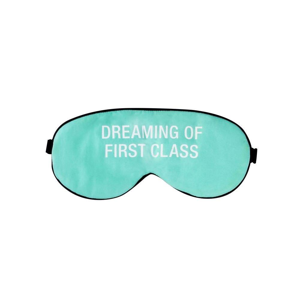About Face Dreaming of First Class Sleep Mask