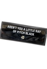 About Face AREN'T YOU A LITTLE RAY OF PITCH BLACK SUNGLASS CASE