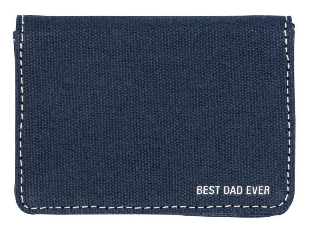 About Face Best Dad Ever Credit Card Wallet