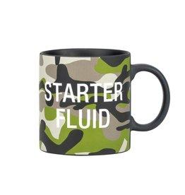 About Face Starter Fluid Camo Mug