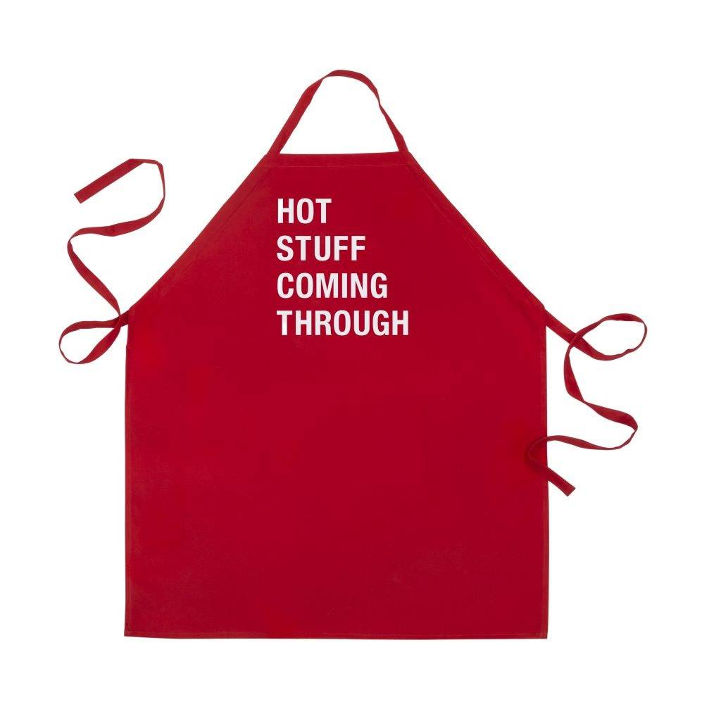 About Face Hot Stuff Coming Through Apron