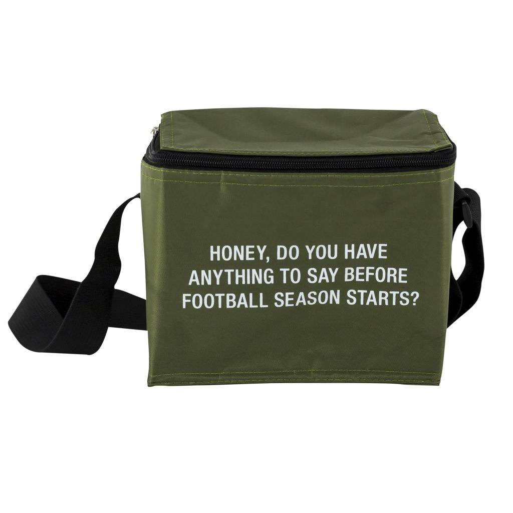 About Face Before Football Season Starts Cooler Bag