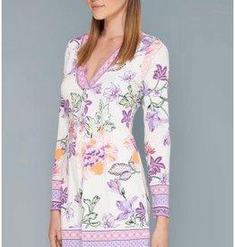 Hale Bob Dafne Jersey Dress Ivory