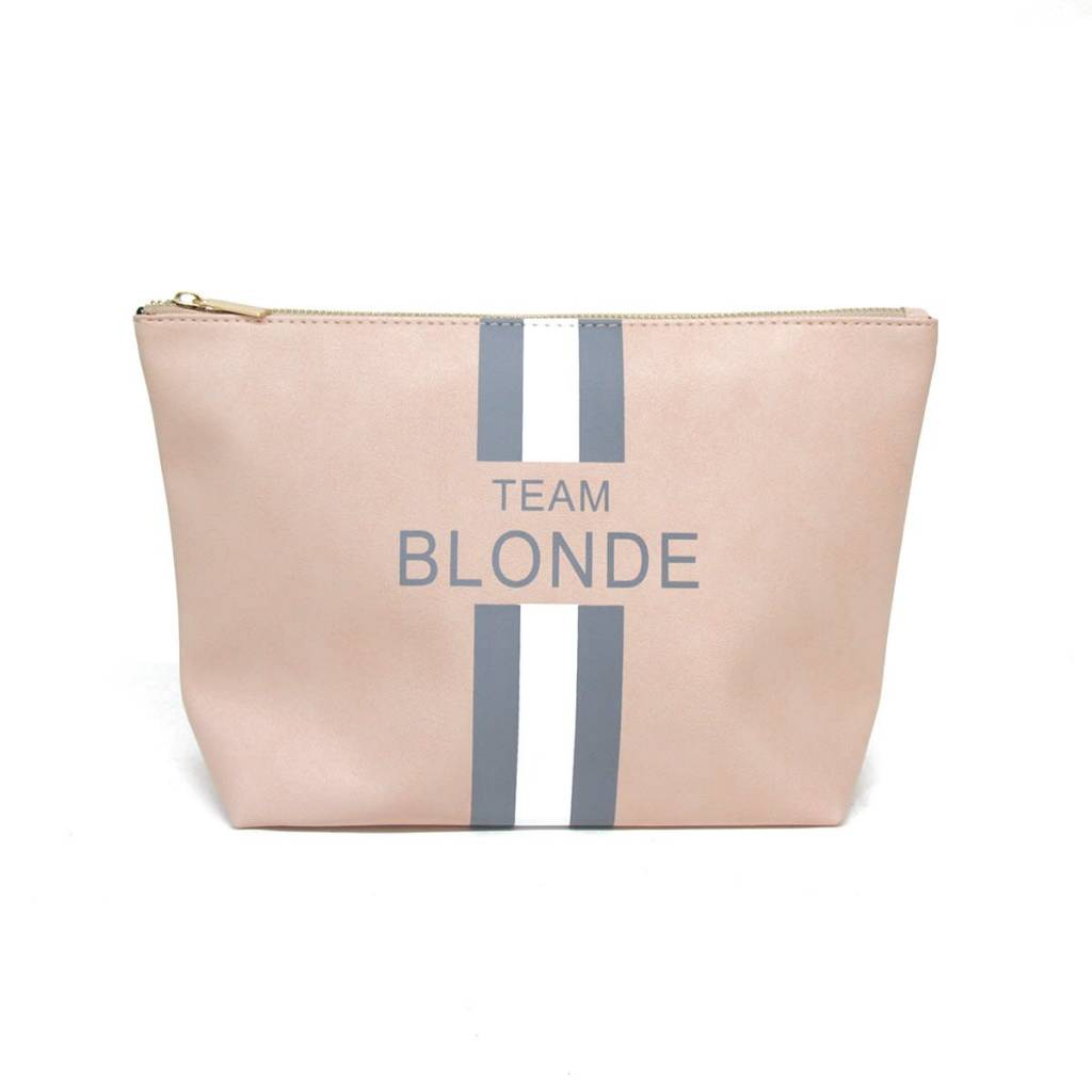 BTB Team Blonde Pouch Blush