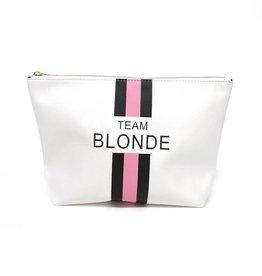BTB Team Blonde Pouch White
