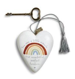 Art Hearts Rainbow Baby