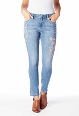 Jag Sheridan Mid-Rise Skinny with Embroidery