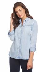 French Dressing Lightweight Denim Shirt