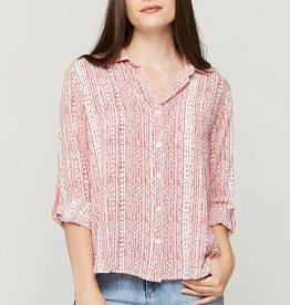 Velvet Heart Elisa Dot Stripe Blouse