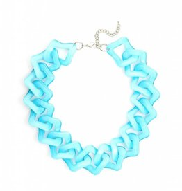 Jewelry Flat Out Fabulous Necklace Bright Blue