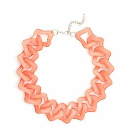Jewelry Flat Out Fabulous Necklace Coral