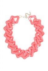 Jewelry Flat Out Fabulous Necklace Pink