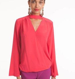 Trina Turk Fresco Top Pink Pop