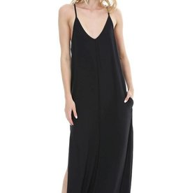 Bobi Cami Maxi Dress Black