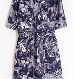 Vilagallo Sabine Safari Dress